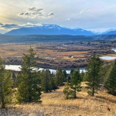 Columbia Valley river system and creeks. Photo by Larrry Halverson