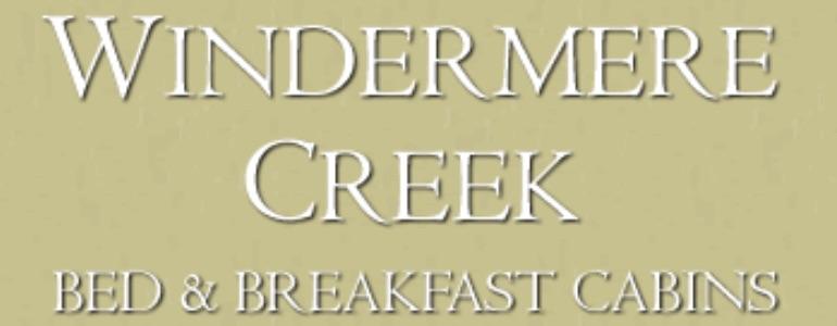 Windermere Creek B&B Cabins